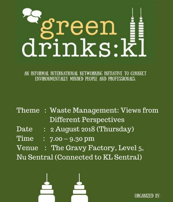 Green Drinks KL: Waste Management – Views From Different Perspectives